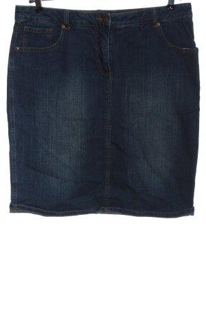 John Baner Gonna di jeans blu stile casual