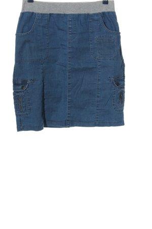John Baner Jeansowa spódnica niebieski W stylu casual