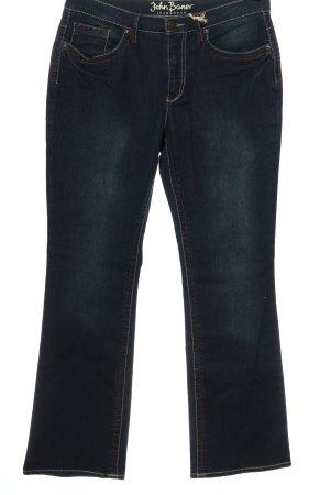 John Baner Jeansowe spodnie dzwony niebieski W stylu casual