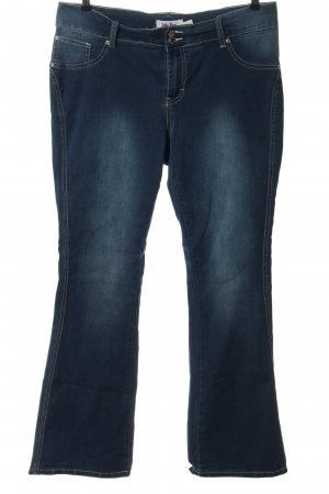 John Baner Denim Flares blue casual look