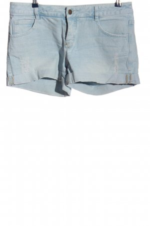 John Baner Jeansshorts blau Casual-Look