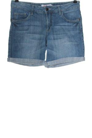 John Baner Pantaloncino di jeans blu stile casual
