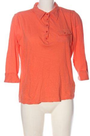 John Baner Manica lunga arancione chiaro stile casual