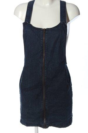 John Baner Minikleid blau meliert Casual-Look