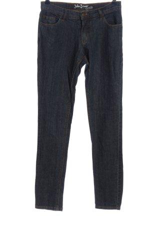John Baner Jeans cigarette bleu style décontracté