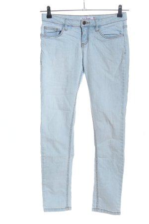 John Baner Skinny Jeans blau Casual-Look