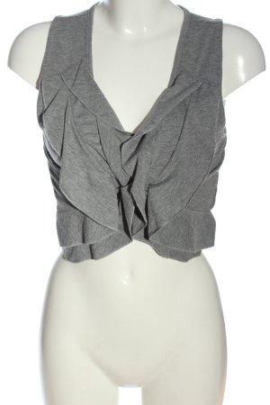 John Baner Smanicato lavorato a maglia grigio chiaro puntinato stile casual