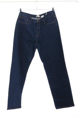 John Baner Straight-Leg Jeans blau Casual-Look