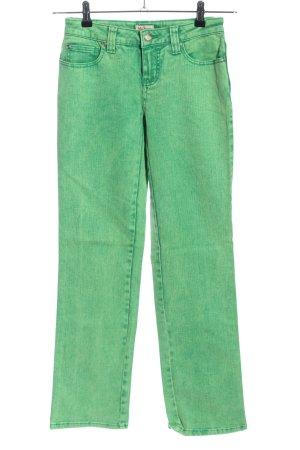 John Baner Jeansy z prostymi nogawkami zielony W stylu casual