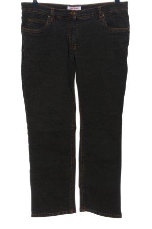 John Baner Jeansy z prostymi nogawkami czarny W stylu casual