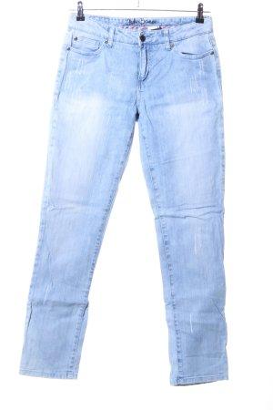 John Baner Jeans a gamba dritta blu stile casual