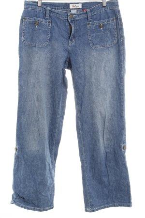 John Baner Jeansy z prostymi nogawkami szary niebieski W stylu casual