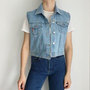 John barner kurze jeansweste jeans weste blau 40 Cardigan jeansjacke jacke mantel pullover pulli