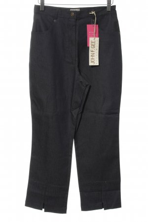 John F. Gee 3/4-Hose anthrazit Casual-Look