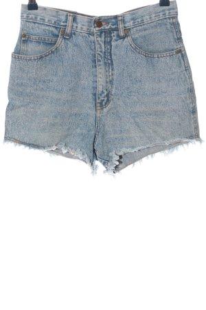 John F. Gee Jeansowe szorty niebieski Melanżowy W stylu casual