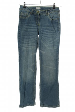 John F. Gee Flares blue casual look