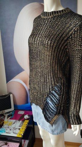 john galliano designer jeansrock erikette Designer Pullover perfect match small