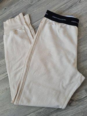 John Galliano Pantalon de jogging noir-crème