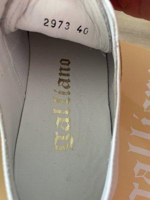 John Galliano Sneakers Weiss Gr.40