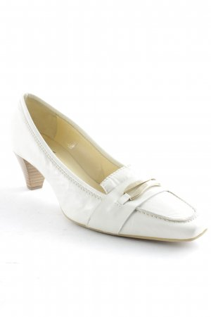 John Grey High Heels creme Business-Look