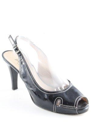 John Grey Slingback-Pumps schwarz Elegant