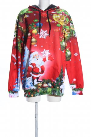 john hancock Christmasjumper themed print casual look
