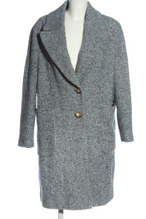 John Lewis Winter Coat blue-white flecked business style