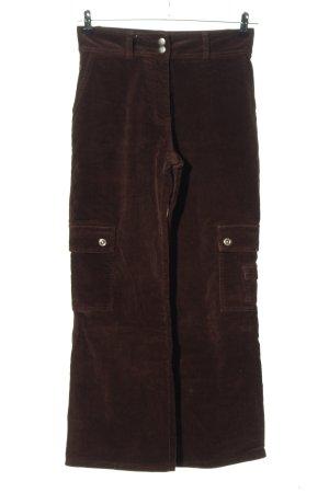 John Lord Corduroy broek bruin casual uitstraling