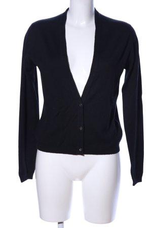John Smedley Shirt Jacket black casual look