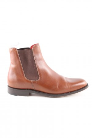 John Spencer Chelsea Boots brown casual look