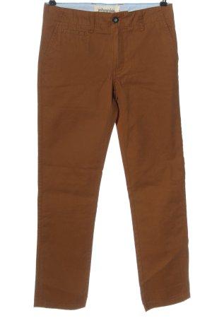 johnnieb Jeans taille haute brun style décontracté