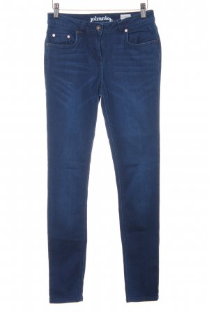 johnnieb Skinny Jeans blau Casual-Look