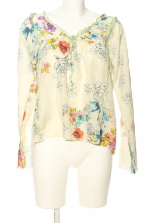Johnny Was Schlupf-Bluse Allover-Druck Casual-Look