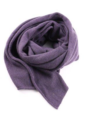 Johnstons Sciarpa in cashmere lilla stile casual