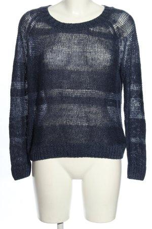 Joie Pullover a maglia grossa blu motivo a righe stile casual