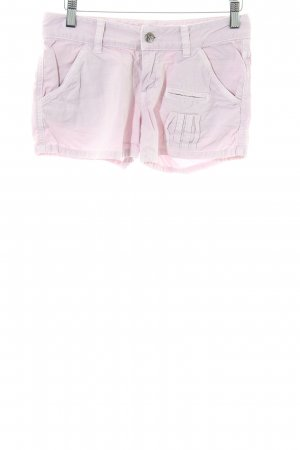 Joie Hot Pants pink casual look