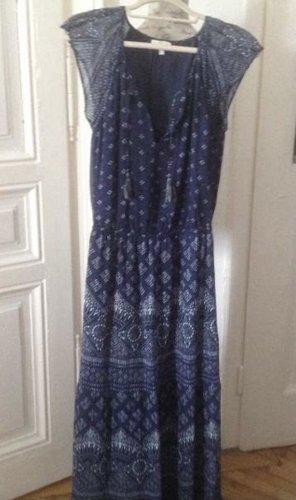 Joie Maxi Dress multicolored silk
