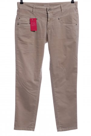 Joker Five-Pocket-Hose wollweiß Casual-Look
