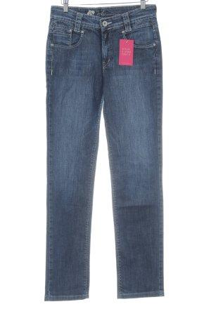 Joker Hoge taille jeans blauw gestippeld casual uitstraling
