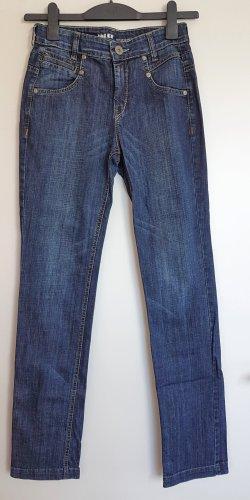 Joker Jeansy z prostymi nogawkami Wielokolorowy Bawełna