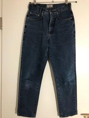 Joker Pantalone cinque tasche blu acciaio Cotone