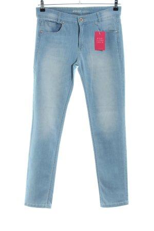Joker Skinny Jeans blau-türkis Casual-Look