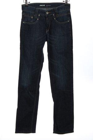 Joker Jeans a gamba dritta blu stile casual
