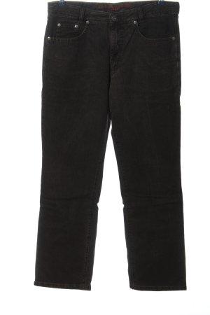Joker Jeansy z prostymi nogawkami czarny W stylu casual