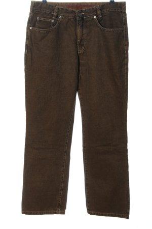 Joker Jeansy z prostymi nogawkami brązowy W stylu casual