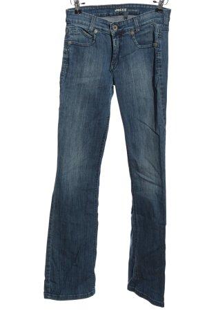 Joker Jeansy z prostymi nogawkami niebieski W stylu casual