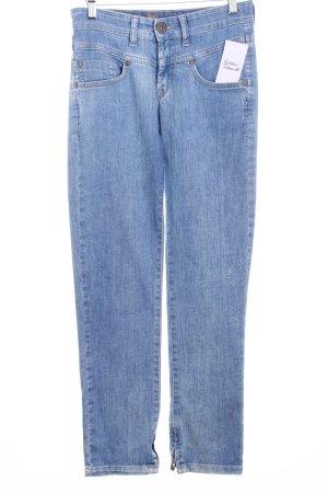 Joker Straight-Leg Jeans hellblau-wollweiß Casual-Look