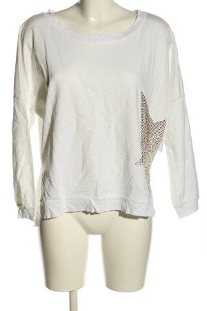 Jolina Dallas Top extra-large blanc style décontracté