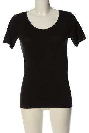 Jolinesse Basic Shirt black casual look