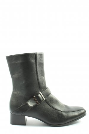 Jolyne Reißverschluss-Stiefeletten schwarz Casual-Look